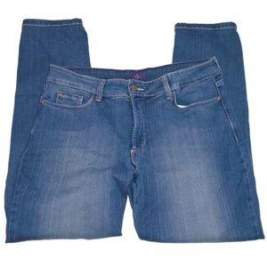 NYDJ Lift & Tuck Jean Legging Jegging 14 Petite